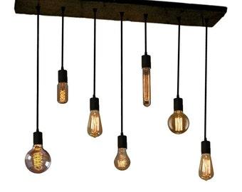 edison bulb industrial chandelier pendant lights reclaimed wood rustic lighting industrial antique edison light fixture chandeliers and pendant lighting