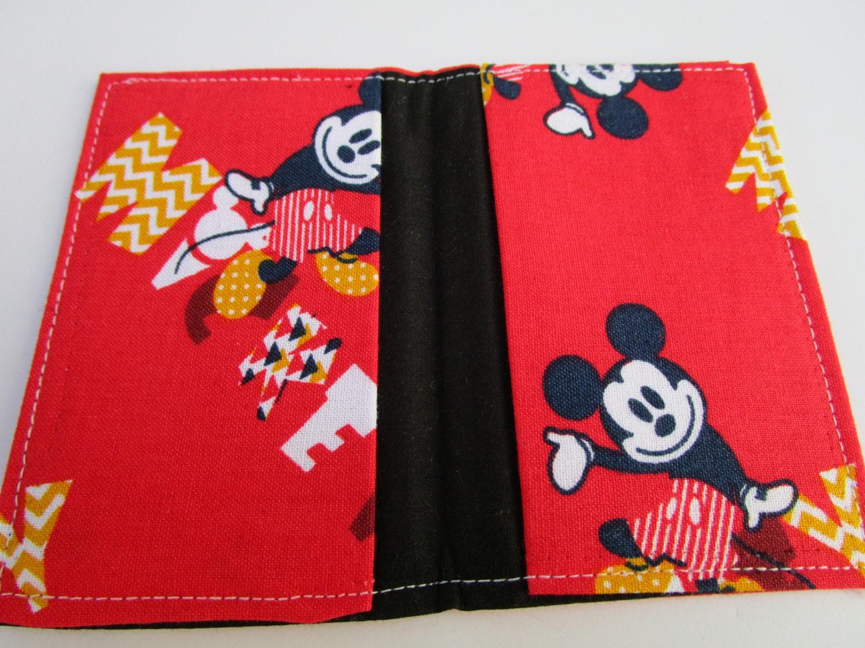 Retro Mickey Mouse Wallet, Credit Card Wallet, Walt Disney Pass ...