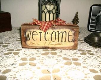Welcome Block Primitive