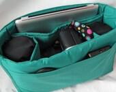 PreOrder Turquoise Camera Bag Insert  - 2 Lens Sleeves - Porter I