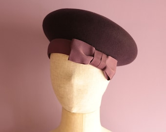 "Two Color Beret ""Elie"""