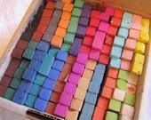 vintage art pastels - Alphacolor soft pastels - chalk pastels - 144 count box