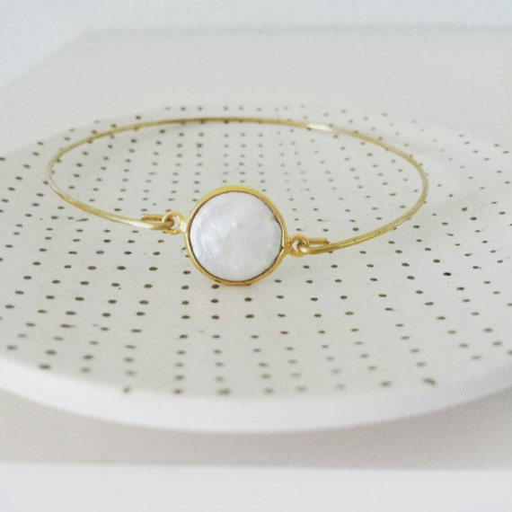 Pearl Stacking Bangle