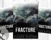 """Premade Digital Book eBook Cover Design """"Fracture"""" Young Adult Paranormal Fiction Thriller Suspense Romance YA"""