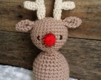 Reindeer lovie lovey prop amigurumi