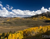How Gold Was My Valley? / Crested Butte, Colorado (photograph, various sizes)