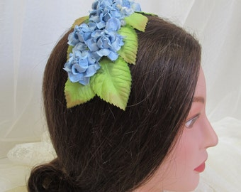 Civil War, Victorian Appropriate Floral Headdress--Affordable Elegance