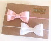 Baby bow set