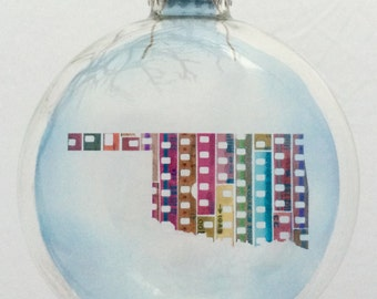 Limited Edition State of Mind Christmas Ornament - Oklahoma