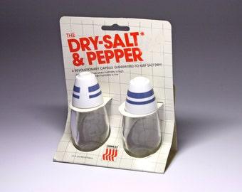 Vintage Gemco Salt and Pepper Shakers in Original Packaging - circa 1984