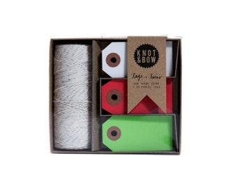 Tag + Twine Box / Holiday Assortment