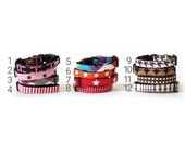 SPECIAL Sample SALE! Dog Collar on sale, discount sale, discount dog collar, sample sale, dog collar, size A 7-10 inch adjustable