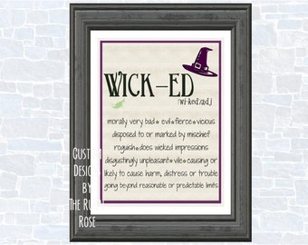 Wicked Halloween Printable