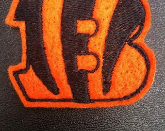 Cincinnati Bengals Applique/Patch/Feltie/Iron on