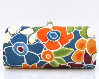 Garden Carpet in Multi..Small Clutch Purse - SM4