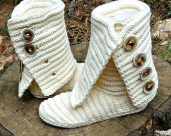 Crochet Boot Pattern - Boot Crochet Pattern - Crochet Slipper Pattern - Crochet Boots Crochet Shoe Pattern Plus Size Crochet