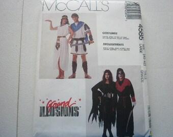 Pattern Costume Vintage Men Ladies Sizes Chest 40 to 42  Vintage McCalls 4585 A