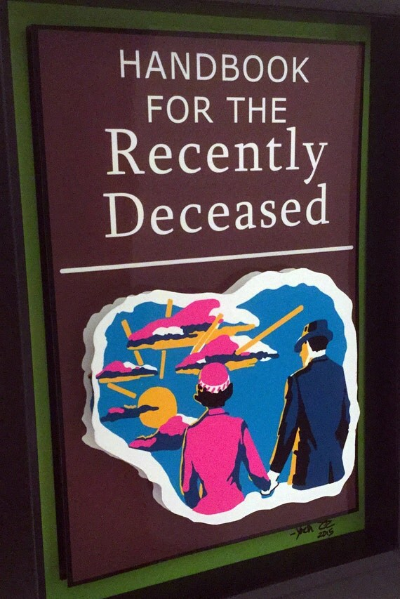 beetlejuice handbook for the recently deceased pdf