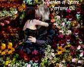 GARDEN OF DESIRE Perfume Oil - Mignonette, Tuberose, Ylang-Ylang - Inspired by The Secret Circle - Gothic Perfume