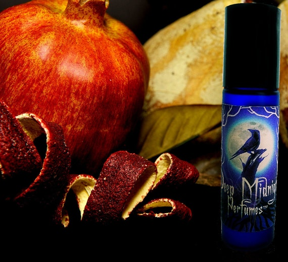 THE GOBLINS' MARKET Perfume Oil - Luscious Fruits, Chocolate, Violets - Gothic Perfume -Victorian Perfume