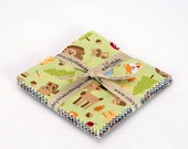 "Happy Camper 5"" Squares Charm Pack by Doodlebug Designs for Riley Blake, 21 pieces"