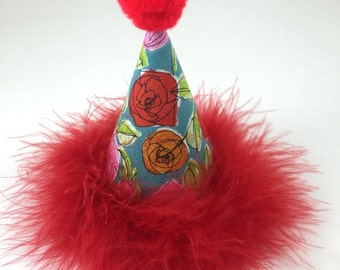 Roses Party Hat