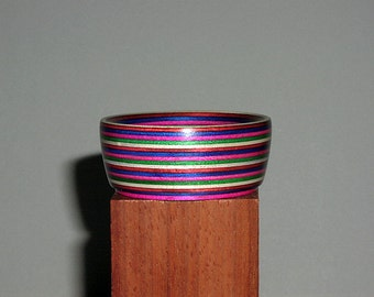 Colorwood Supported Spinning Bowl,, style 10 E