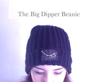 Big Dipper Beanie in Black