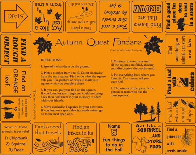 Fall is FUN Game! Play our Autumn Quest fun scavenger hunt about the fall season. Great outdoor activity for kids