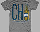 Drink Local Chicago Beer T-Shirt