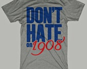 Vintage Chicago Cubs T-Shirt Heather Gray