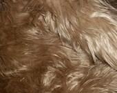 Sandstone/Sycamore Faux Fur