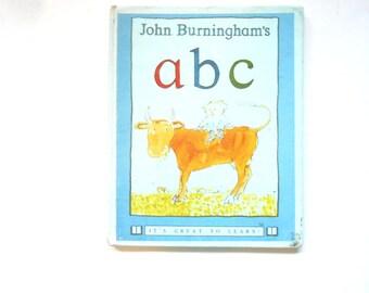 John Burningham's ABC, a Vintage Children's Alphabet Book, Illustrated