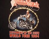 Judas Priest 1984 Heavy Metal Concert Tour NEW T Shirt L or XL