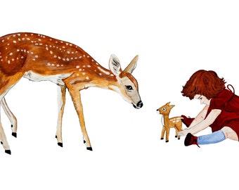 Deer Offering