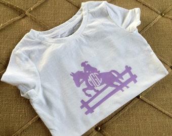 Monogrammed Horse Back Riding