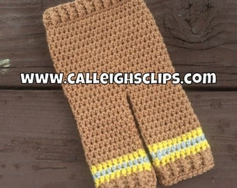 Instant Download Crochet Pattern No. 120 - Firefighter Pants
