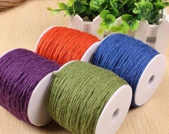 Hang Tag String - 10 Yards Hemp Rope Cord Jute String Craft String Hang Tag String Gift Wrapping