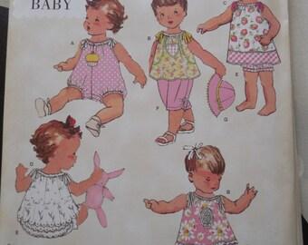 Simplicity 1813  babies  vintage