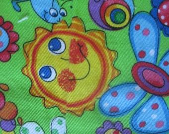 Child's Whimsical Print Fabric
