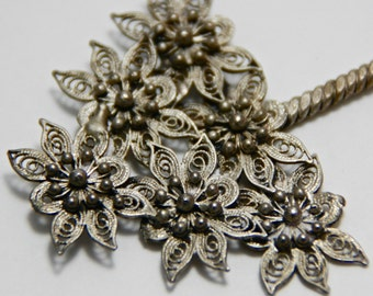 Vintage Chinese Silver Hair Ornament