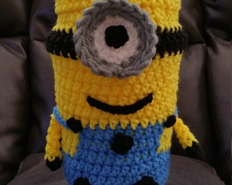 Minion style purse/tote - girls/teens/ladies