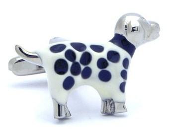 Dalmatian Cufflinks