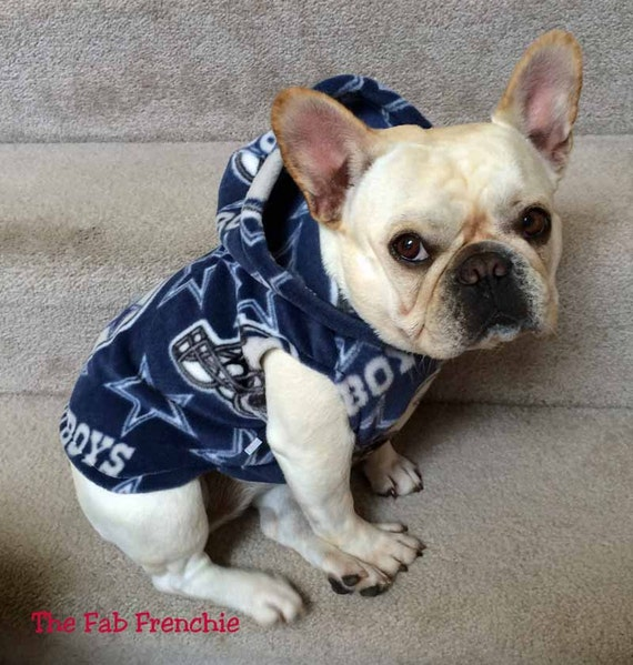 french bulldog dallas tx french bulldog frenchie dallas cowboys fleece hoodie 398