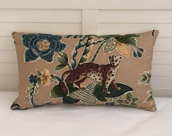 Cowtan and Tout Tahiti Linen Designer 12x20 Lumbar Pillow Cover