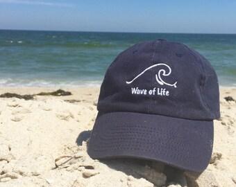 Wave of Life Baseball Cap Summer Fashion Style Beach Boho by Wave of Life™