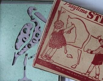 Vintage Transogram Gold Medal Paytime Stencils Vintage Transogram Toy Vintage Stencils