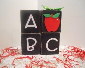 Teacher ABC 4 Block Stacker
