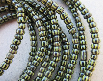 African Glass Beads -3 Strands