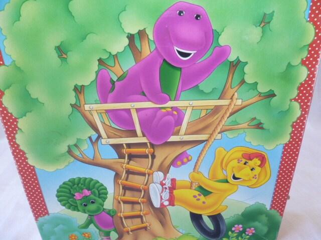 Barney Baby Bop BJ 24 Piece Puzzle